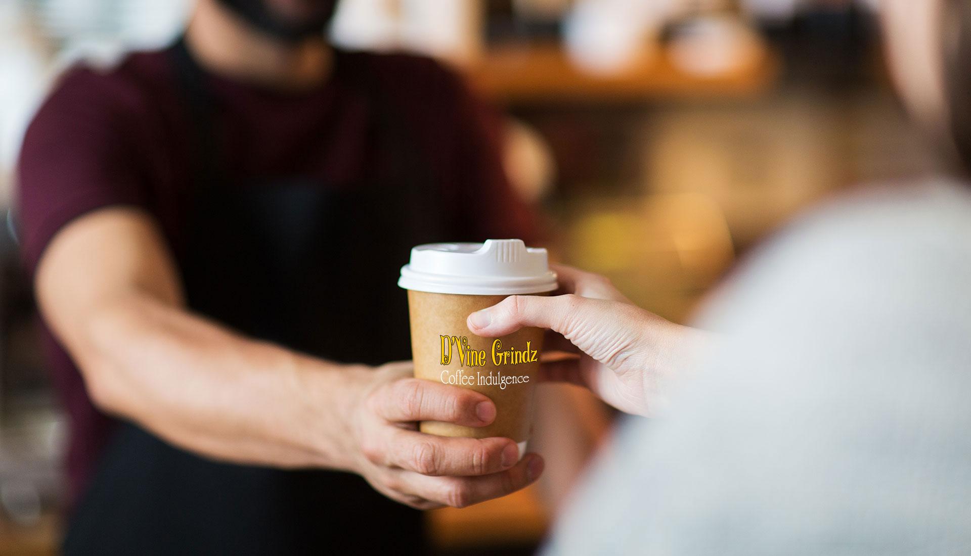dvine grindz barista coffee